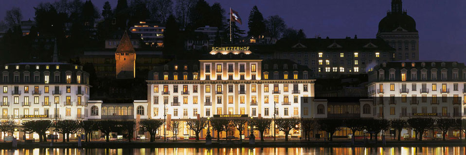 Hotel Schweizerhof Luzern (1845), Lucerne, Switzerland, Best Rate Guarantee on HistoricHotelsWorldwide.com