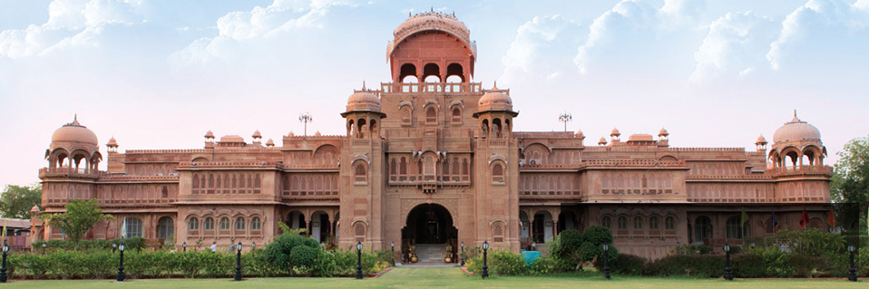 Book your stay at the Laxmi Niwas Palace