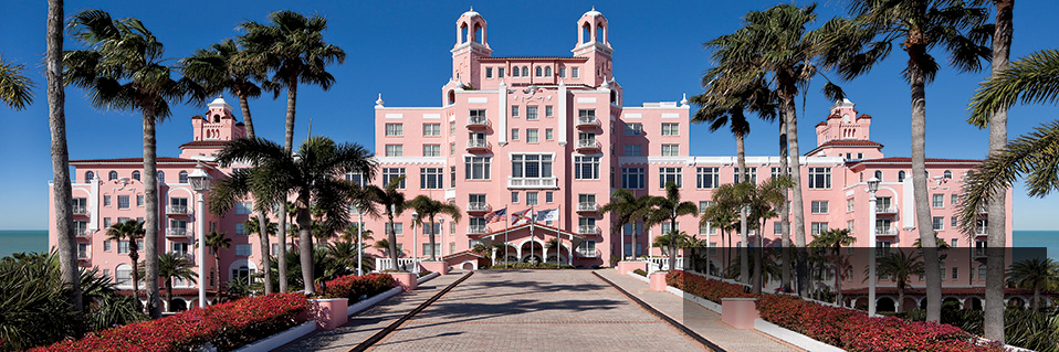 Loews Don CeSar Hotel (1928) St. Pete Beach, Florida, Best Rate Guarantee on HistoricHotels.org