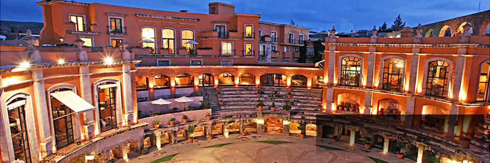 Quinta Real Zacatecas (1866) Zacatecas, Mexico, Best Rate Guarantee on HistoricHotelsWorldwide.com