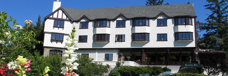 Book a stay at the Benbow Inn at Garberville, CA