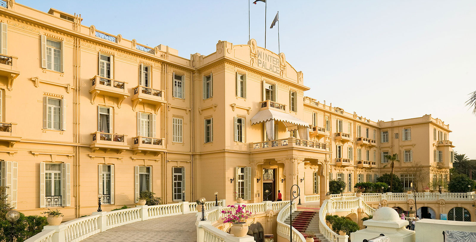 Image of Exterior with Patio Sofitel Winter Palace Luxor Egypt