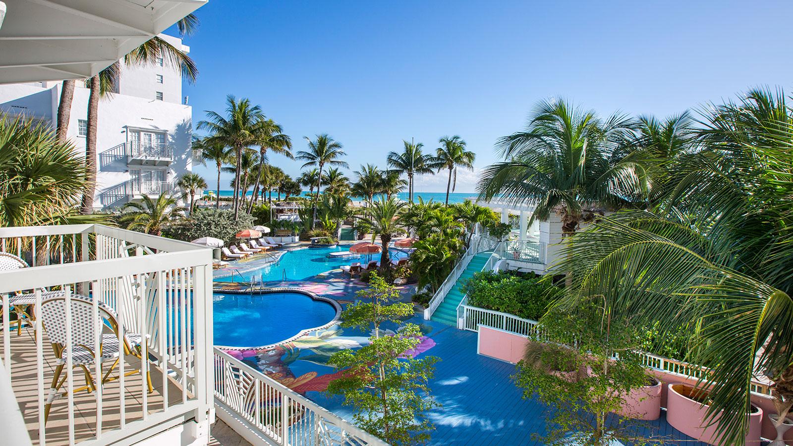 Exterior daytime of Caribe Hilton in San Juan, Puerto Rico