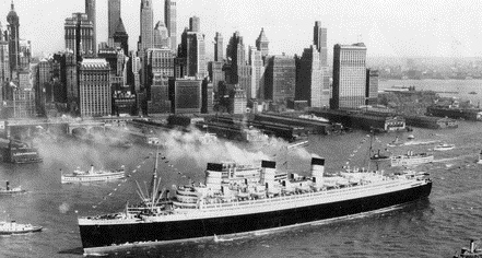 History: The Queen Mary in Long Beach