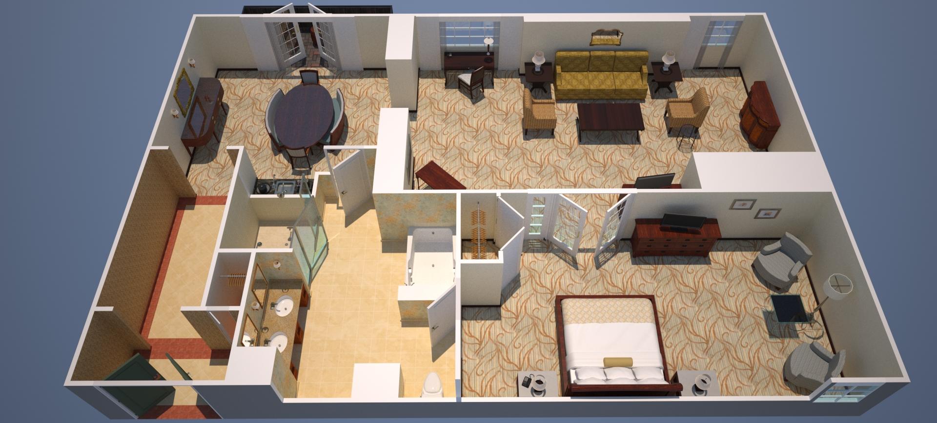 Marriott Two Bedroom Suite Historic Hotels Of America